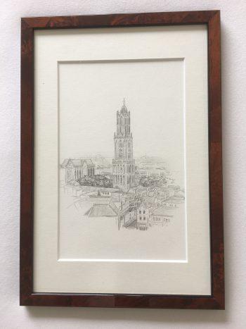 Stadsgezicht Utrecht met Domtoren